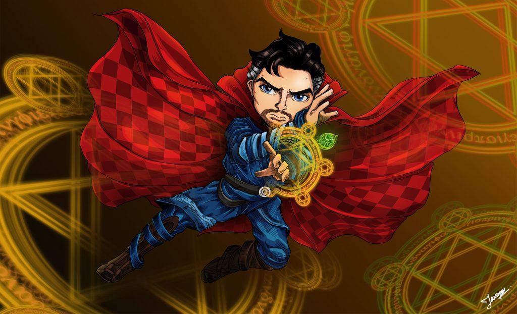 Doctor Strange Fan Artwork Wallpaper