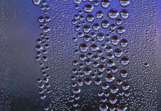 Drops Close-up Surface Moisture Wallpaper