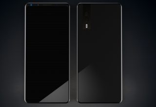 Huawei P20 Black 4k Wallpaper