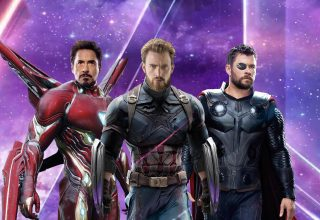 Iron Man, Captain America & Thor in Avengers: Infinity War Wallpaper