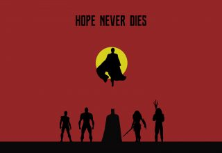 Justice League Hope Never Dies Wallpaper