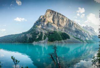 Lake Louise Sanada Travel Mountain Wallpaper