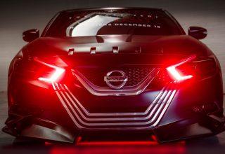 Nissan Maxima Kylo Ren 4k Wallpaper