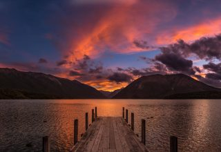 Rotoiti Lake New Zealand Wallpaper