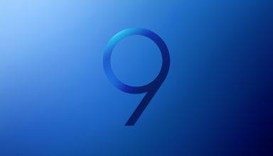 Samsung Galaxy S9 Stock Blue Wallpaper