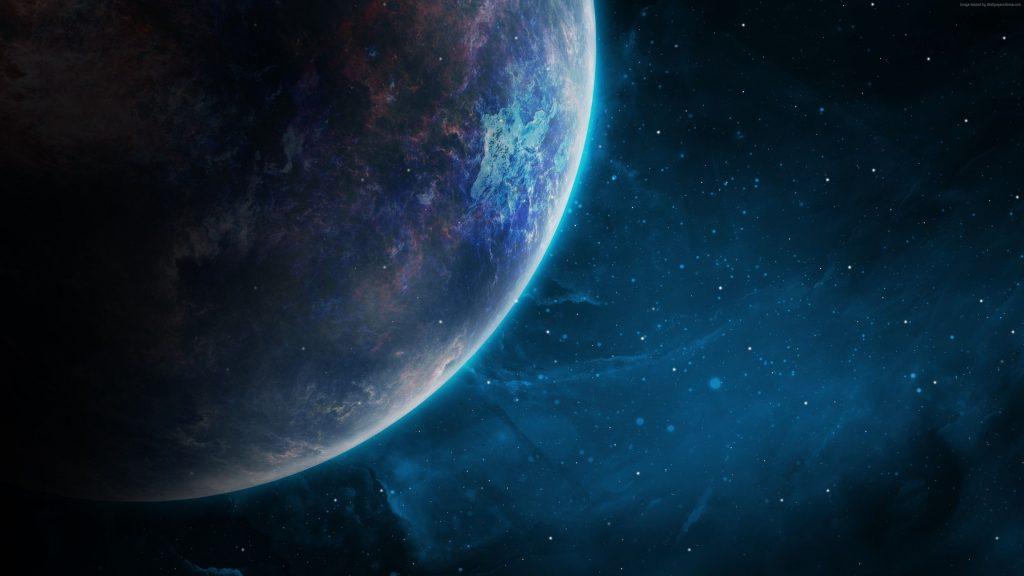 Space Galaxy Planet Wallpaper