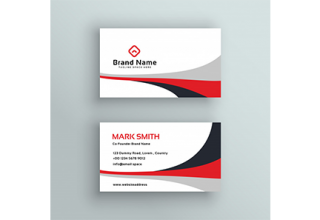 دانلود وکتور Modern clean business card vector design