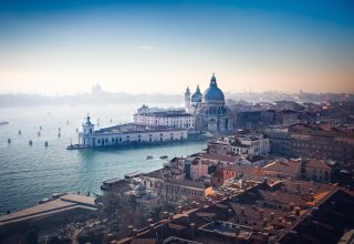 Venice Italy Beauitful City Old Buildings View Wallpaper