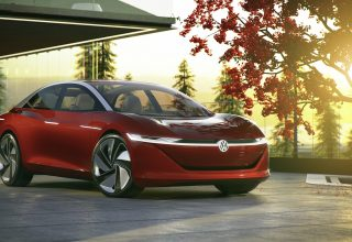 Volkswagen I D Vizzion Geneva Motor Show 2018 Wallpaper