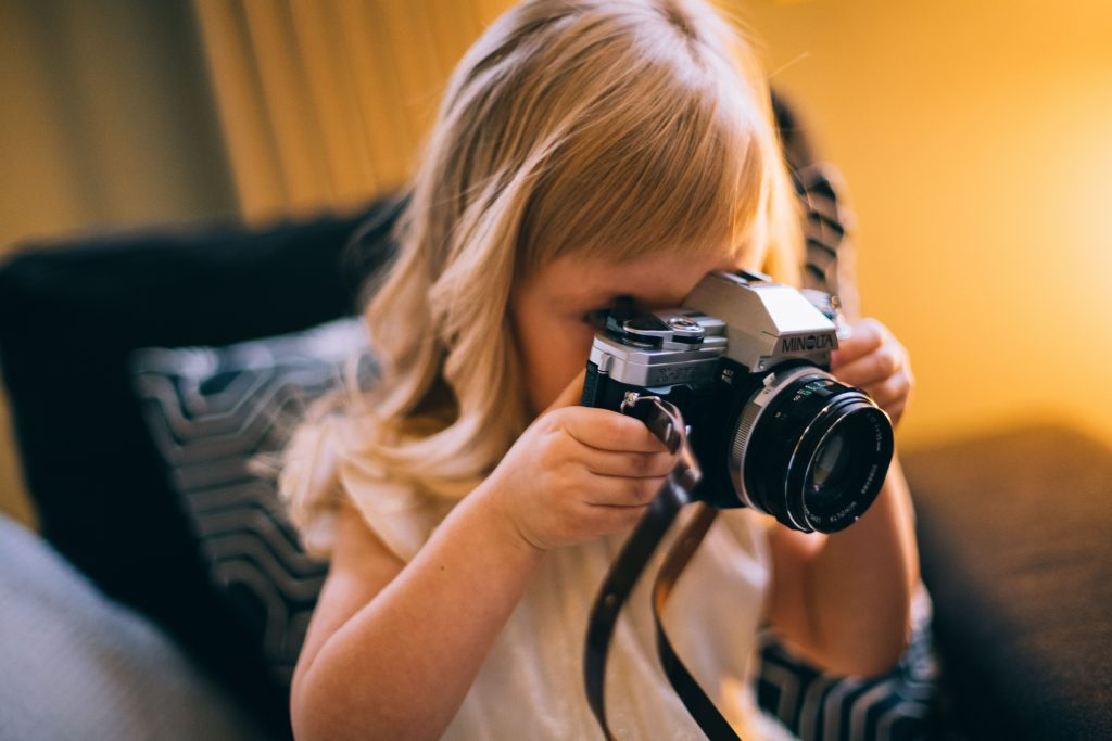 Young Girl Photographer Daria Shevtsova Wallpaper