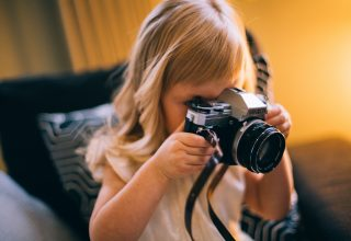 Young Girl Photographer Daria Shevtsova Wallpaper
