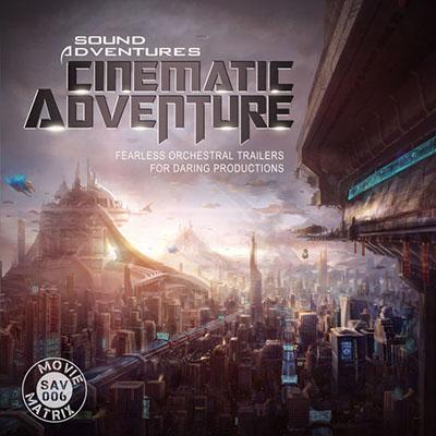 دانلود آلبوم موسیقی Cinematic Adventures توسط Sound Adventures