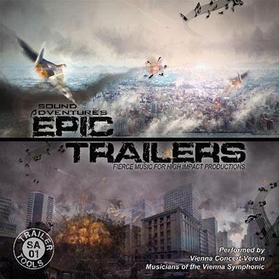 دانلود آلبوم موسیقی Epic Trailers توسط Sound Adventures