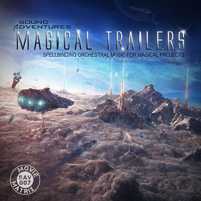 دانلود آلبوم موسیقی Magical Trailers توسط Sound Adventures