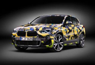 BMW X2 Digital Camo Concept 2018 Wallpaper