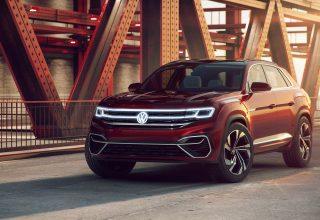 Volkswagen Atlas Cross Sport Concept 2018 Wallpaper