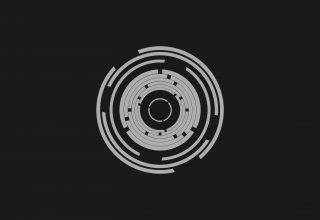 Abstract Minimalism Circle Wallpaper