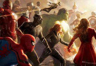 Avengers: Infinity War Artwork 4k Wallpaper