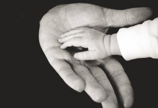 Child Parents Hands Caring Tenderness Family Wallpaper