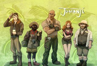 Jumanji: Welcome to The Jungle 4k Artwork Wallpaper