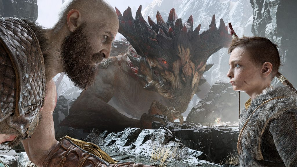 Kratos and Atreus God of War 4 Wallpaper