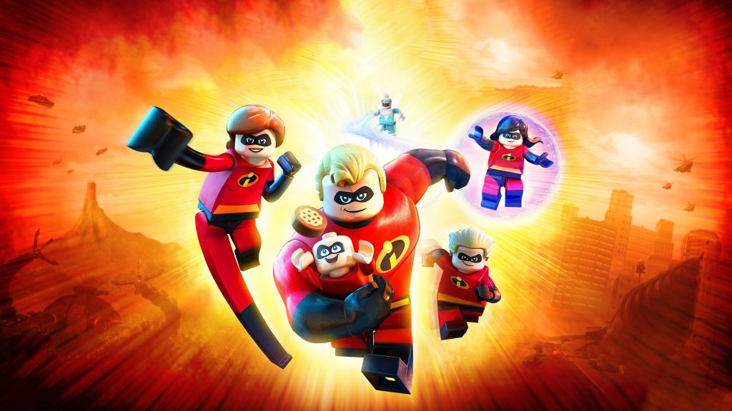 Lego Incredibles 2 4k Game Wallpaper
