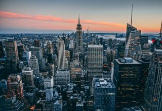 Manhattan New York USA Skyscrapers Wallpaper