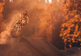 Motorcycle Stunter Dirt Bike Extreme Wallpaper