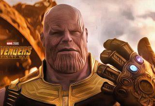 Thanos in Avengers: Infinity War Wallpaper