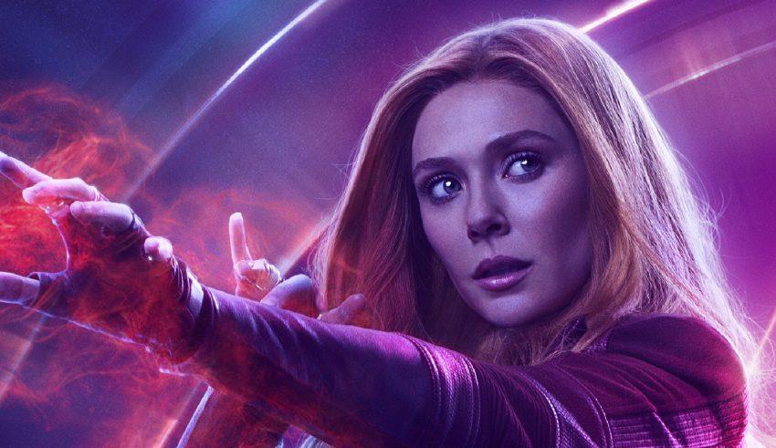Wanda Maximoff in Avengers: Infinity War New Poster Wallpaper