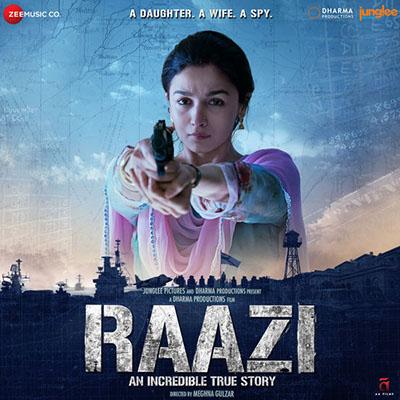 دانلود موسیقی متن فیلم Raazi – توسط Shankar-Ehsaan-Loy