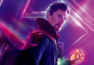 Benedict Cumberbatch As Doctor Strange in Avengers: Infinity War Wallpaper