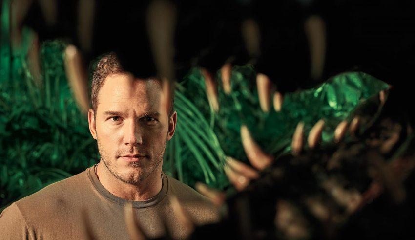 Chris Pratt in Jurassic World: Fallen Kingdom Wallpaper