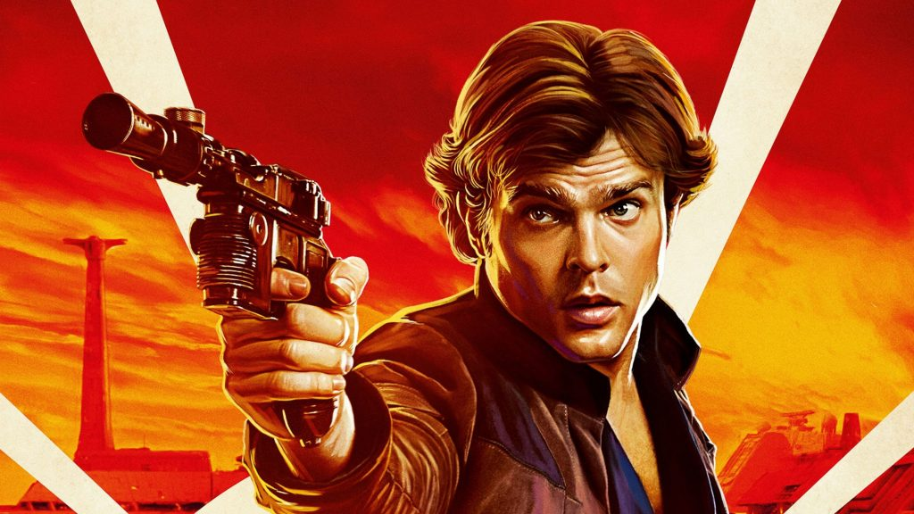 Han Solo in Solo: A Star Wars Story Movie Wallpaper