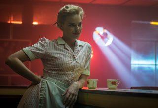 Margot Robbie in Terminal Movie Wallpaper