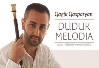 دانلود آلبوم موسیقی Duduk Melodia توسط Gagik Gasparyan