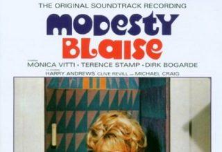 دانلود موسیقی متن فیلم Modesty Blaise – توسط John Dankworth