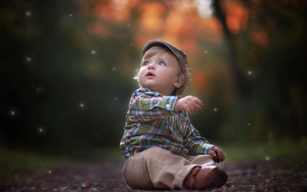 Cute Little Boy Wallpaper