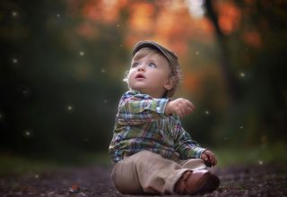 Cute Little Boy Wallpaper