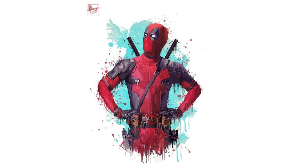 Deadpool 2 Artwork Wallpaper