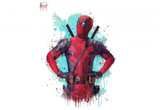 Deadpool 2 Artwork Wallpaper