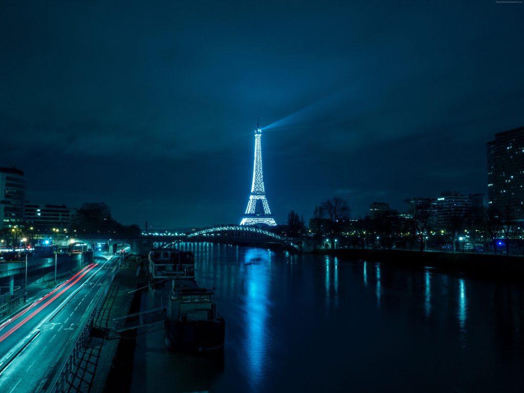 eiffel tower france paris 4k wallpaper