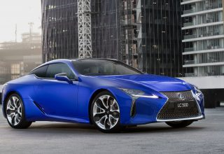 Lexus LC 500 Morphic Blue Limited Edition 2018 Wallpaper