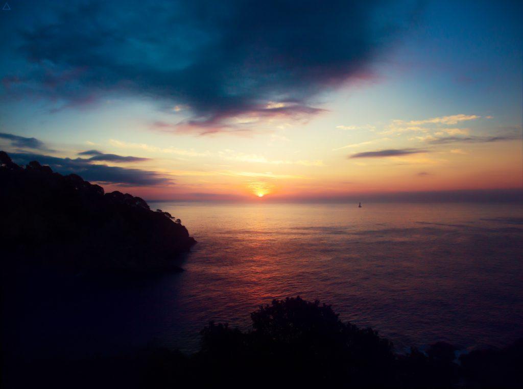 Ocean Beach Sunset Wallpaper
