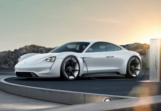 Porsche Taycan Electric Car Supercar 2020 Wallpaper