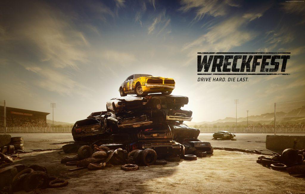 Wreckfest Next Car Game E3 2018 Wallpaper