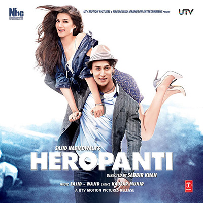 دانلود موسیقی متن فیلم Heropanti – توسط Sajid-Wajid, Manj Musik, Mustafa Zahid ,Bilal Saad