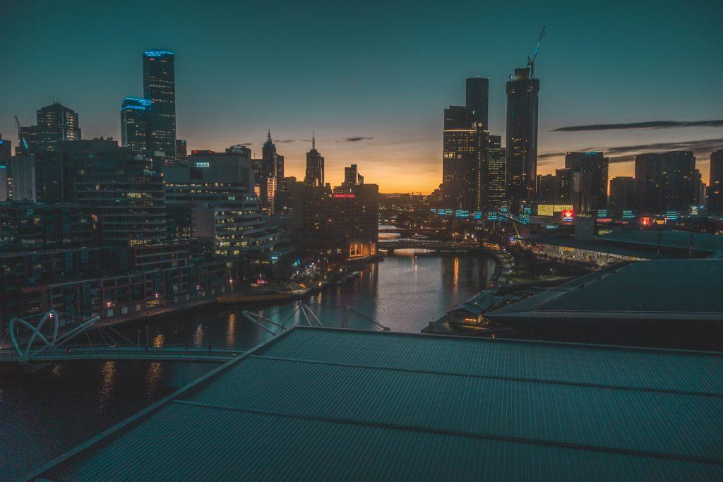 Architecture Buildings City Lights 5k Wallpaper