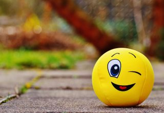 Ball Smile Happy Wallpaper