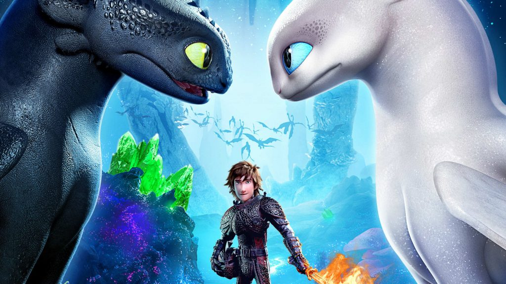 How to Train Your Dragon: The Hidden World Movie Wallpaper